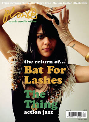 Plan B Magazine Issue XX cover - Bat For Lashes. Art direction and design by Andrew Clare, photography by XX