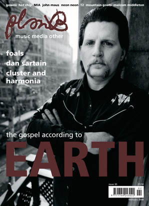 Plan B Magazine Issue 30 cover - Earth. Art direction and design by Andrew Clare, photography by Cat Stevens