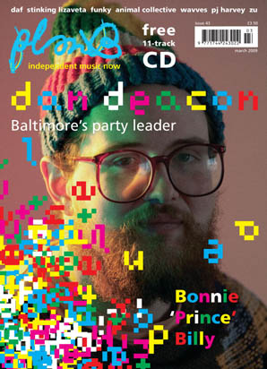 Plan B Magazine Issue 43 cover - Dan Deacon. Art direction and design by Andrew Clare, photography by Justin Hollar