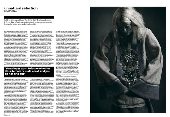 Plan B Magazine Issue XX feature - XX. Art direction and design by Andrew Clare, photography by XX