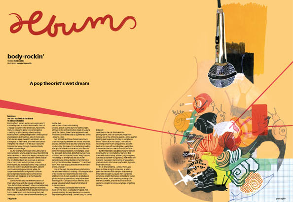 Plan B Magazine Issue XX feature - XX. Art direction and design by Andrew Clare, illustration by Hennie Haworth
